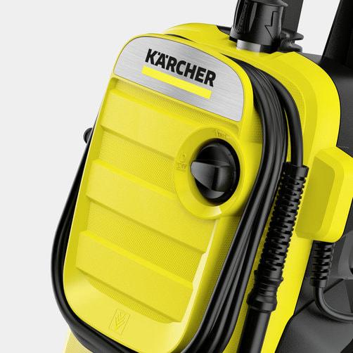 Аппарат высокого давления K 4: Держатель шланга на передней крышке