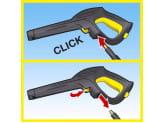 Пистолет запасной с мягкой рукояткой Karcher Best