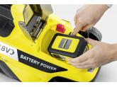 Газонокосилка аккумуляторная Karcher LMO 18-33 Battery