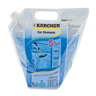 Шампунь+воск автомобильный Karcher (складная канистра 0.5 л)