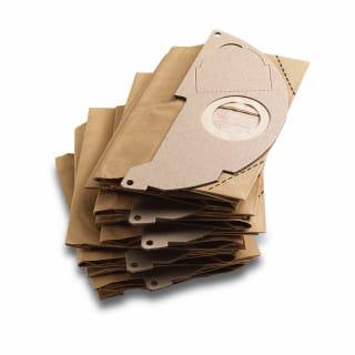 Фильтр-мешки бумажные Karcher для пылесоса WD, MV (5 шт)