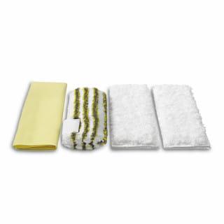 Комплект микроволоконных салфеток Karcher для ванной для пароочистителей SC, DE (4 шт)