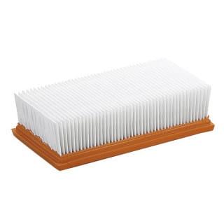 Фильтр плоский складчатый из полиэфирного шелка Karcher для пылесосов NT 14/1, NT 351 Eco