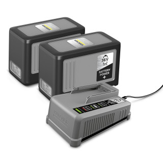 Комплект Karcher Starter Battery Power+ 36/75