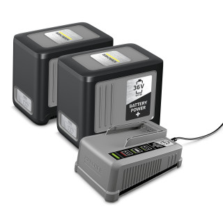 Комплект Karcher Starter Battery Power+ 36/60