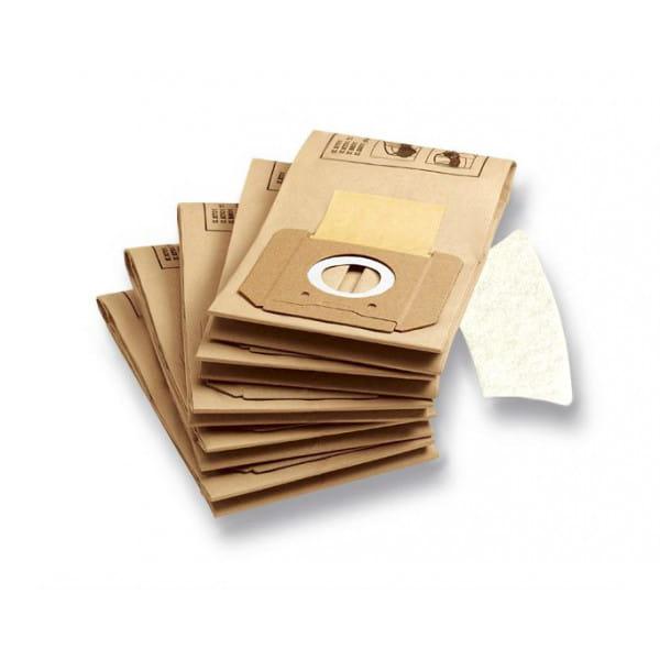 Комплект мешков-фильтров бумажных Karcher для пылесосов К 2701, 2801