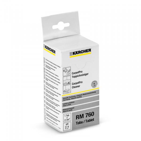 Средство для чистки ковров в таблетках CarpetPro RM 760 (16 таблеток)