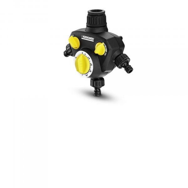 Таймер для полива Karcher WT 2 + распределитель 3-х канальный G1, G3/4 для систем полива