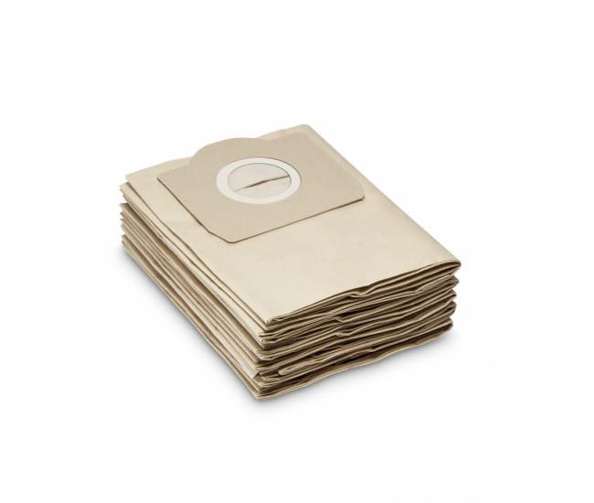 Фильтр-мешки бумажные Karcher для пылесоса WD, SE, MV (5 шт)