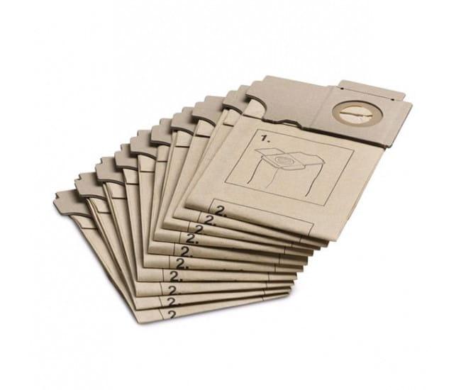 Фильтр-мешки бумажные Karcher для пылесоса CW, CV (10 шт)