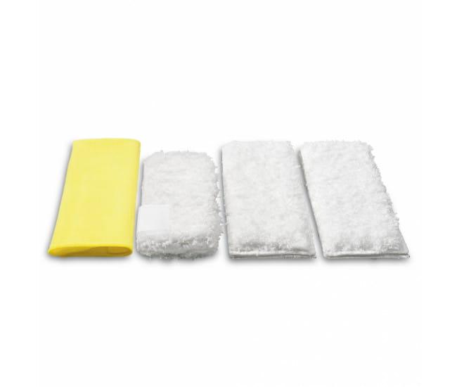 Комплект микроволоконных салфеток Karcher для пароочистителей серии SC, DE