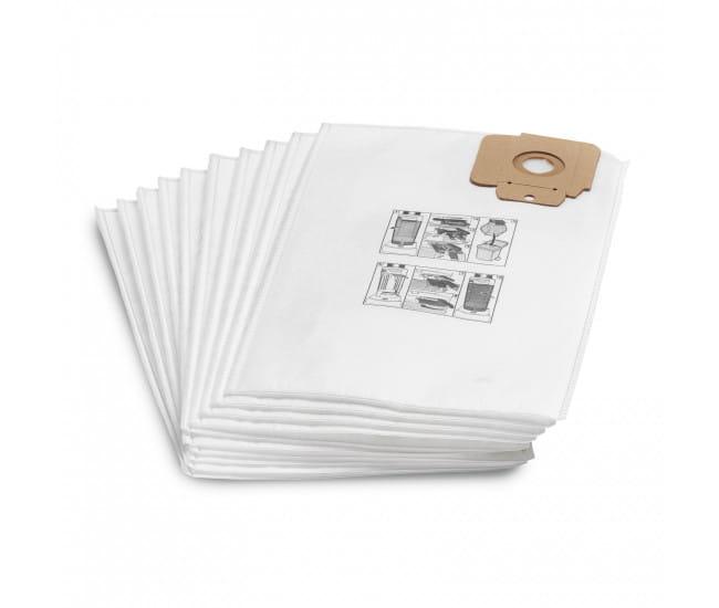 Фильтр-мешки из нетканого материала Karcher для CV 30/1 - CV 48/2 (10 шт)