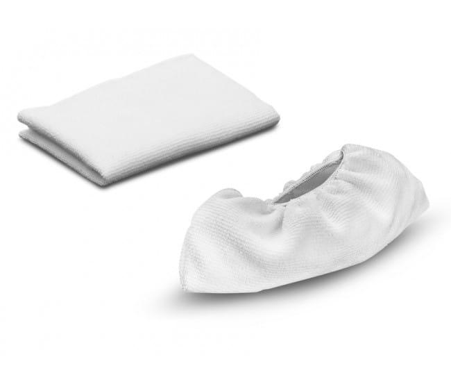 Комплект микроволоконных салфеток Karcher для пароочистителей серии SC