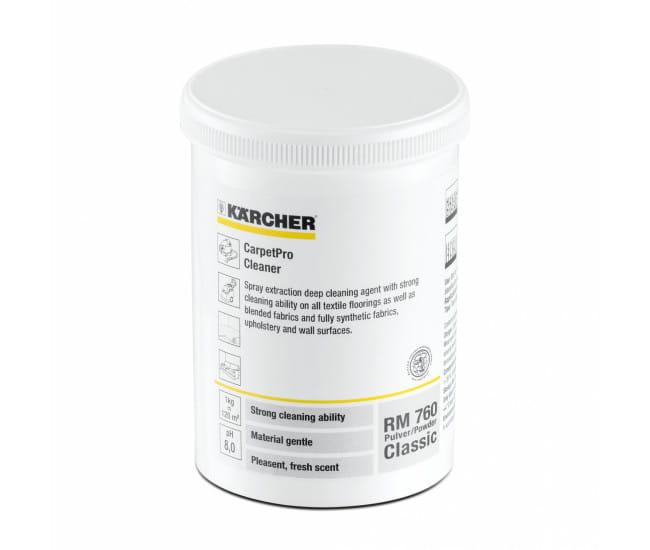 Средство порошковое для очистки ковров и мягкой мебели Karcher RM 760 0.8 кг