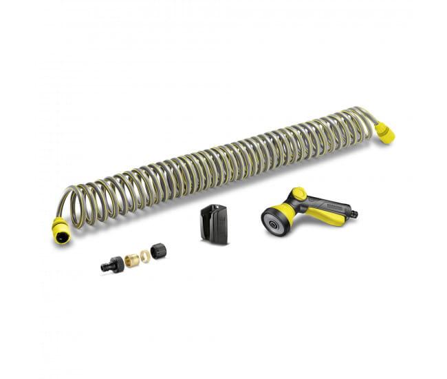 Комплект Karcher: шланг спиральный 10 м, пистолет и соединители