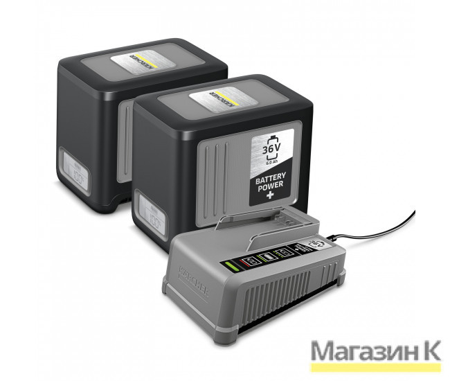 Starter Battery Power+ 36/60 2.445-071 в фирменном магазине Karcher