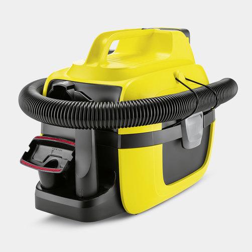 Хозяйственный пылесос WD 1 Compact Battery Set: Компактная переносная конструкция
