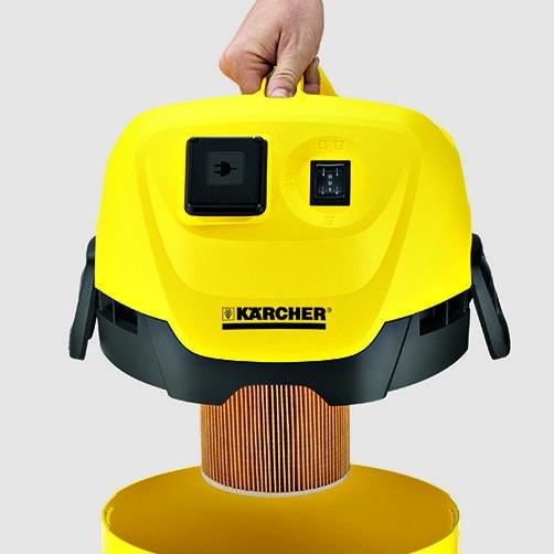 Хозяйственный пылесос WD 3 P: Специальный картридж-фильтр