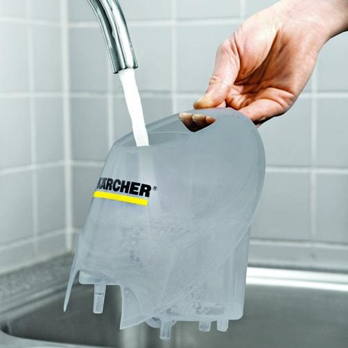 Пароочиститель SC 4: Перезаполняемый съемный бак для воды
