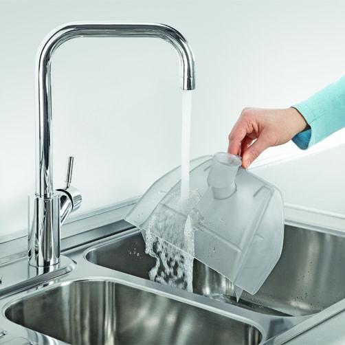 Пылесос с аквафильтром DS 6.000 Mediclean: Съемный аквафильтр легко мыть