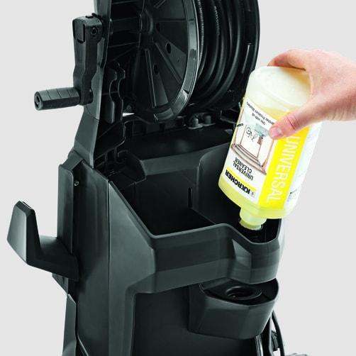 Аппарат высокого давления K 5: Система Plug 'n' Clean
