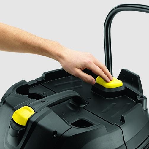 Пылесос влажной и сухой уборки NT 75/2 Ap Me Tc: ApClean (система полуавтоматической очистки фильтра)