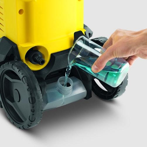 Аппарат высокого давления K 3: Бак для чистящего средства