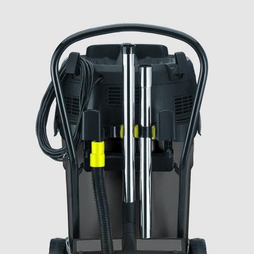 Пылесос влажной и сухой уборки NT 70/3: Интегрированный отсек для хранения аксессуаров