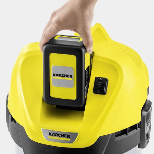 Хозяйственный пылесос WD 3 Battery: Сменный аккумулятор Battery Power 36 В