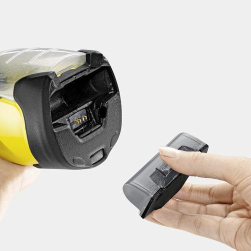 Стеклоочиститель WV 5 Premium *EU: Съемный аккумулятор