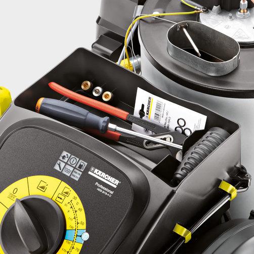 Аппарат высокого давления HDS 5/12 C: Удобство хранения