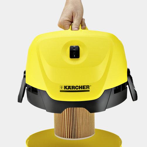 Хозяйственный пылесос WD 3 Suction Brush Kit: Специальный патронный фильтр