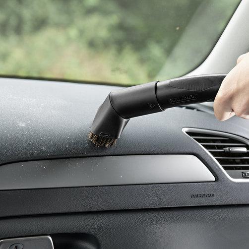 Хозяйственный пылесос WD 3 Suction Brush Kit: Насадка-кисть с мягкой щетиной для бережной очистки чувствительных поверхностей