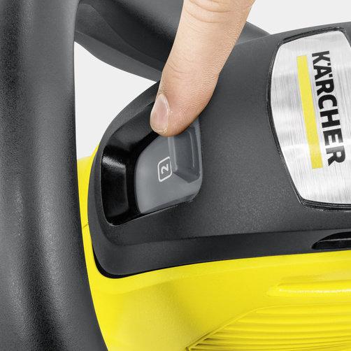 HGE 36-60 Battery: 2-ступенчатый регулятор скорости движения лезвий