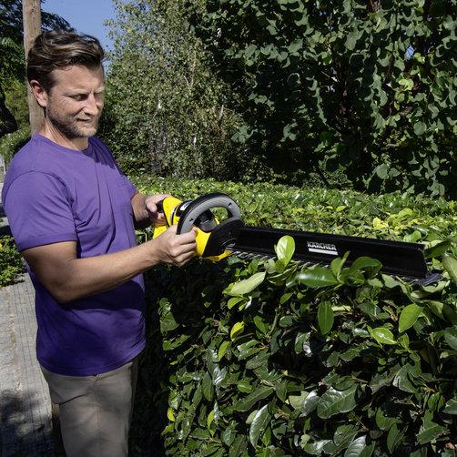 HGE 36-60 Battery: Насадка для удаления срезанных листьев