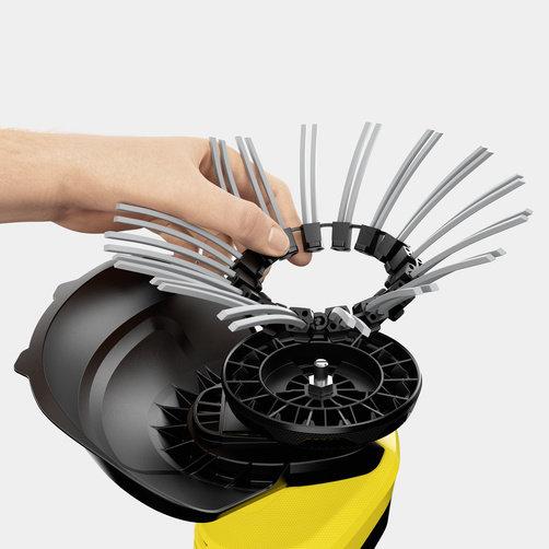 WRE 18-55 Battery Set: Замена щетины без применения инструментов