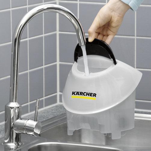 Пароочиститель SC 5 EasyFix Iron: Съемный бачок для доливки воды