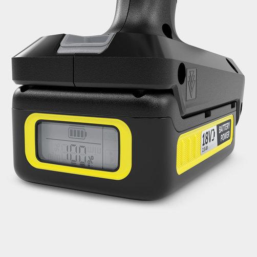 KHB 6 Battery Set: Сменный аккумулятор Kärcher Battery Power 18 В