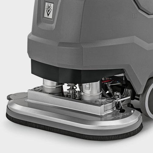 Поломоечная машина BD 80/100 W Classic Bp: Надежные компоненты из высококачественного алюминия