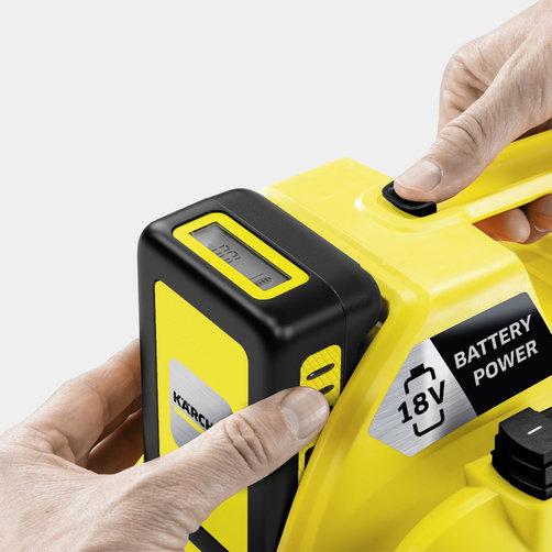 Хозяйственный пылесос WD 1 Compact Battery Set: Сменный аккумулятор Kärcher Battery Power 18 В