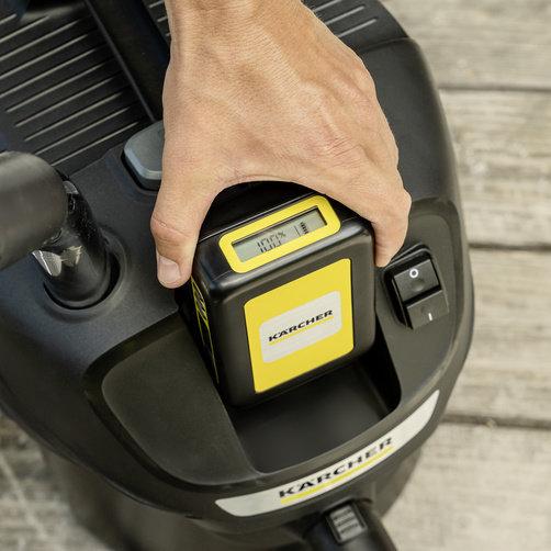 Пылесос для золы AD 2 Battery Set: Сменный аккумулятор Kärcher Battery Power 18 В