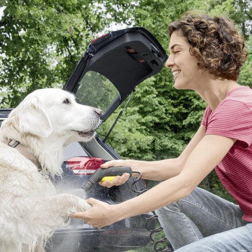 Mobile Outdoor Cleaner OC 3 Plus: Эффективная и бережная мойка низким давлением
