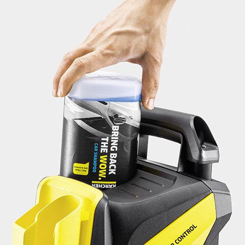 мойка высокого давления K 4 Power Control: Система подачи чистящего средства Plug 'n' Clean