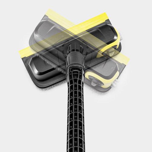 Мощная швабра PS 30 Plus: Поворачиваемая на 360° щеточная головка
